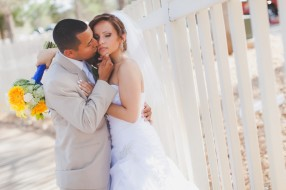 Las Vegas Angel Park Country Club Wedding Photography, bride and groom pictures.