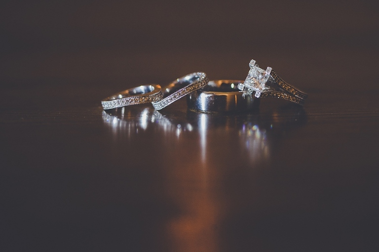 Portland Wedding Photographer, Bride and Groom Wedding Rings Lake Oswego.