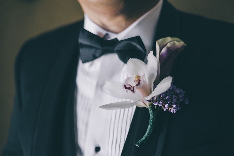 Las Vegas Wedding, Groom Boutonnière.